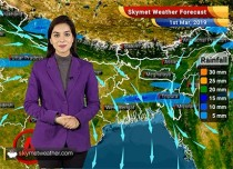 Weather Forecast Mar 1: Rain, snow in Kashmir, Himachal to continue; showers to reduce from East India