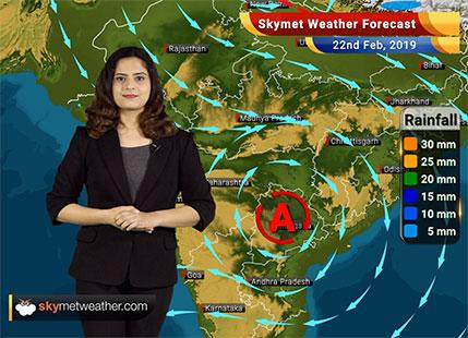 22 फरवरी का मौसम पूर्वानुमान: हिमाचल, उत्तराखंड, पश्चिमी उत्तर प्रदेश में बारिश; दिल्ली में मौसम शुष्क..