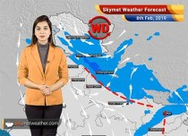 Weather Forecast for Feb 8: Rains ahead for entire India; Delhi, Rajasthan to remain dry