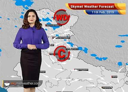 Weather Forecast for Feb 11: Rains likely over Himachal, Uttarakhand, Kashmir, Karnataka, Tamil Nadu