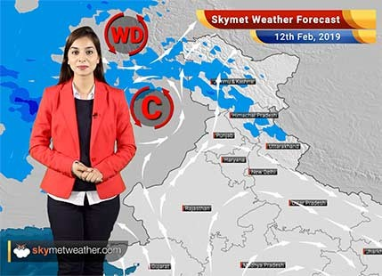 Weather Forecast for Feb 12: Light rain in Himachal and Jammu-Kashmir