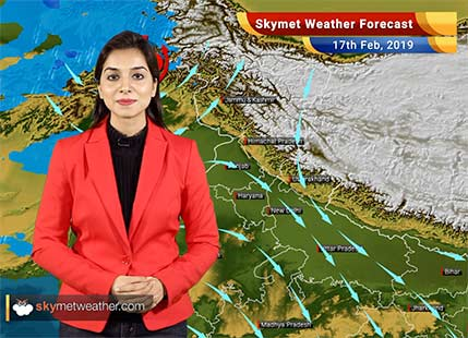 Weather Forecast for Feb 17: Rainfall in North and Northeast India