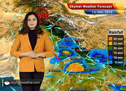 Weather Forecast for Mar 1: Rain in Kashmir, Himachal Pradesh, North Punjab, West Rajasthan