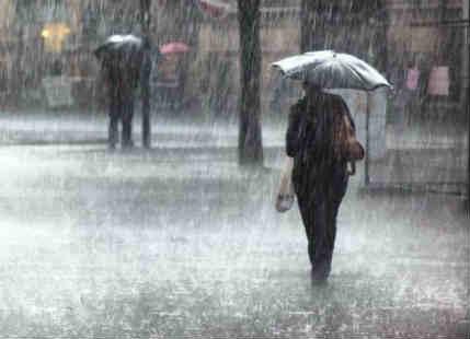 Rain in Bihar, Jharkhand, West Bengal