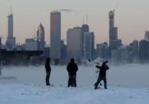 Severe heat in Australia Freezing weather in US ft