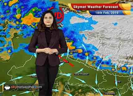 Weather Forecast for Feb 18: Rain in Kashmir, Himachal Pradesh, Uttarakhand, Punjab, Haryana, Delhi likely