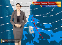 Weather Forecast Feb 4: Rain in South Tamil Nadu, Jammu and Kashmir and Himachal Pradesh likely