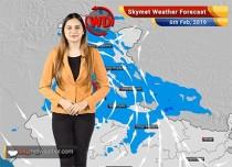 Weather Forecast Feb 6: Heavy rain and snow in Kashmir, Himachal, Uttarakhand likely