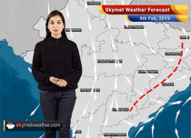 Weather Forecast Feb 9: Rain in East and South India