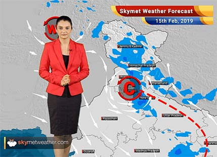 Weather Forecast Feb 15: Rains in Badrinath, Kedarnath, Ambala, Chandigarh