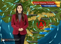 Weather Forecast for Feb 19: Rain and hail in North India, light rains in Northeast