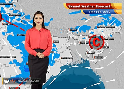 Weather Forecast for Feb 15: Rain in Punjab, Haryana, UP with chances of hailstorm