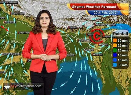 Weather Forecast for Feb 20: Rainin Jammu and Kashmir, Himachal Pradesh, Punjab, Haryana, Delhi