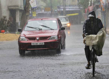 Rain in West Bengal