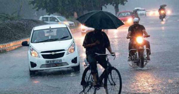 Rain in Jharkhand and Odisha
