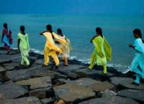 Climate change impact on Chennai sea