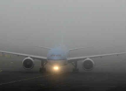 Fog in Delhi NCR