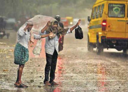 Rain in Bengaluru, Mysore, Mangalore