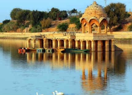 Rain in Bikaner, Jaisalmer