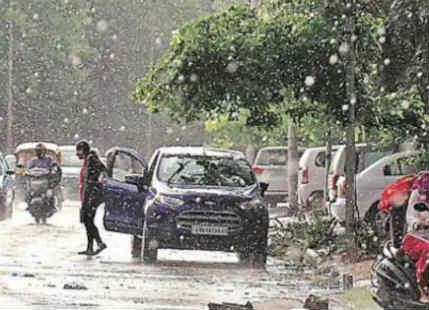 Rain in Punjab and Rajasthan