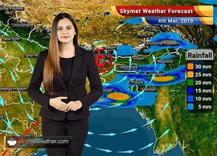 Weather Forecast Mar 4: Rain in Delhi, Mumbai, Kolkata, Ranchi, Patna likely