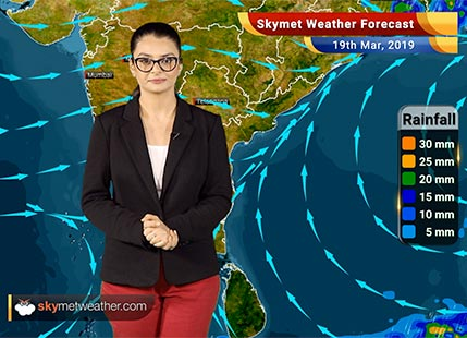 Weather Forecast March 19: Rain in Kolkata, Bhubaneswar, Srinagar, Manali, Nainital and Vaishno Devi