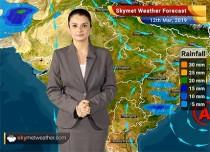 Weather Forecast March 12: Light rain in Kashmir, Himachal and Uttarakhand