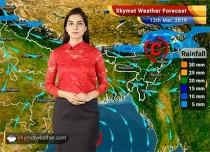 Weather Forecast for March 12: Light rain in Eastern Assam, Arunachal Pradesh and Coastal Andhra Pradesh