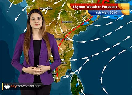 Weather Forecast March 6: Rain in parts of North, South, Northeast India likely; Delhi to remain dry