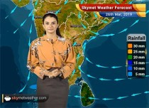 Weather Forecast March 26: Kolkata, Bhubaneswar to see rains; Mumbai heatwave to persist
