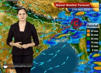 Weather Forecast March 27: Rain in Kolkata, Kerala, Dry weather in Delhi, Hyderabad, Bengaluru