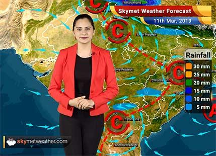 Weather Forecast March 11: Rain in Kashmir, Himachal, Uttarakhand, Punjab, Haryana, Kerala and Coastal Karnataka