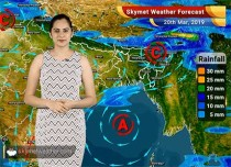 Weather Forecast March 20: Rain in Kashmir, Himachal, Punjab, Vidarbha, South MP and West Bengal