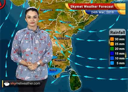 Weather Forecast March 24: Delhi, Gurugram, Chandigarh, Jaisalmer, Jaipur to witness rains; Chennai, Hyderabad to be warm