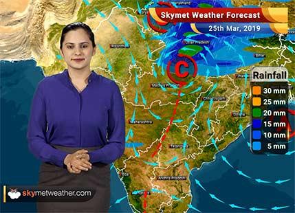 Weather Forecast March 25: Rain in Himachal, Uttarakhand, Haryana, Delhi, parts of Rajasthan, UP, MP and Chhattisgarh