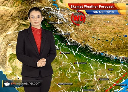 Weather Forecast Mar 5: Hailstorm, rain over Kolkata, Balasore, Bhubaneswar; mercury to soar over South India