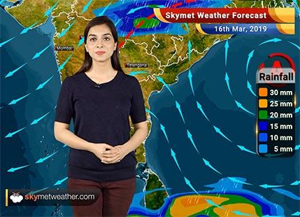 Weather Forecast March 16: Lightning, Rain in Kolkata, Jamshedpur, Ranchi, Nagpur, Mandla