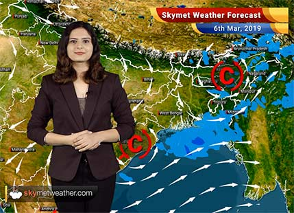 Weather Forecast for Mar 6: Rain Jammu and Kashmir, Uttarakhand, Andhra Pradesh, Tamil Nadu
