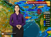 Weather Forecast for March 26: Rain in Kolkata, Bhubaneswar; Heatwave in Mumbai