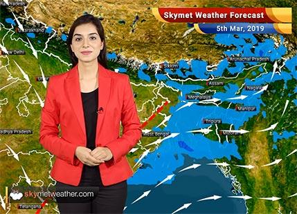 Weather Forecast for Mar 5: Dry weather in Delhi; Rain in Kolkata, Bhubaneswar