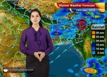 Weather Forecast for March 26: Rain in Kolkata, Bhubaneswar; Heatwave in Mumbai