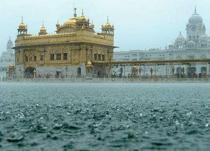 Rain in Amritsar