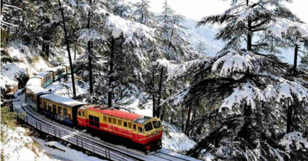 Snow in Himachal