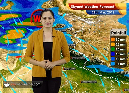Weather Forecast March 29: Rain in Kashmir, Himachal and Punjab, heatwave in Gujarat to continue