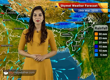 Weather Forecast for March 29: Heatwave in some parts of Gujarat, Rain in Arunachal and Sikkim