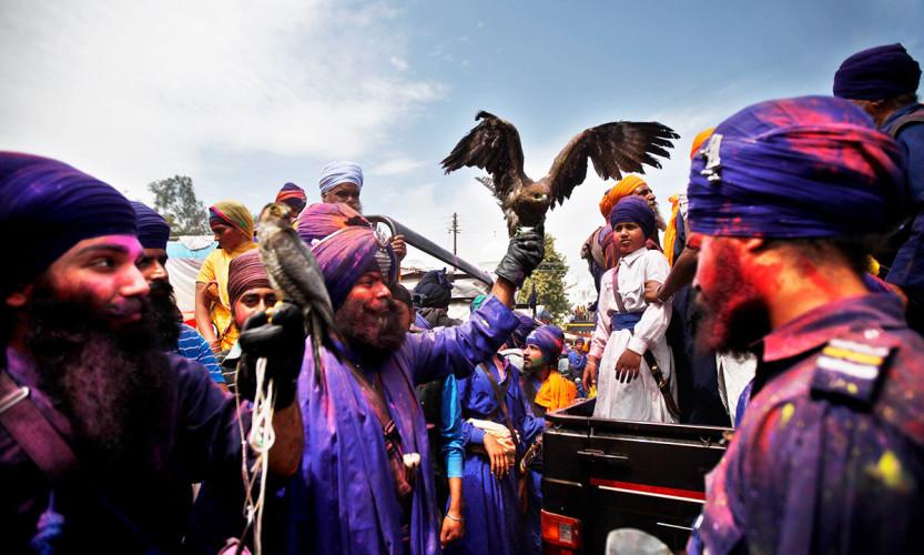 anandpur-sahib-punjab-warrior-holi