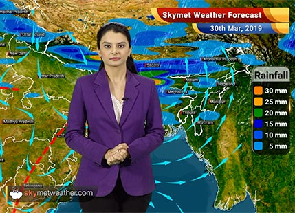 Weather Forecast March 30: Gwalior, Guwahati, Kohima, Shillong to see rains, Gujarat to witness dry weather
