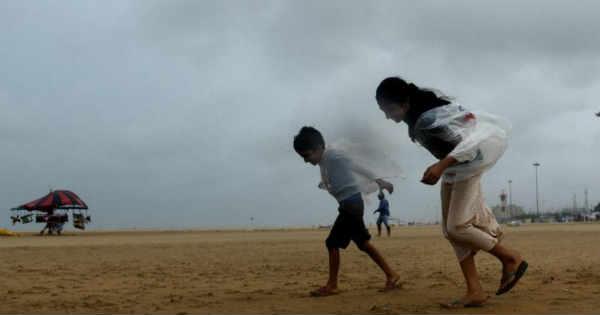 Pre Monsoon Rain in Chennai