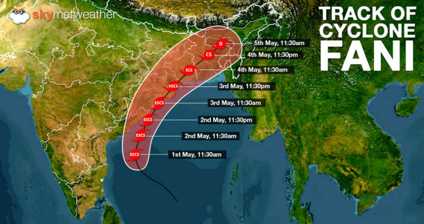Image result for Cyclone Fani