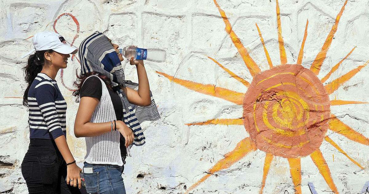 Delhi temperature crossed 44 degree